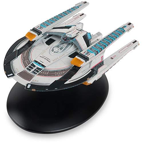 Offizielle Star-Trek-Online-Raumschiff-Kollektion   U.S.S. Europa NCC-97640 mit Magazin-Ausgabe 9 von Eaglemoss Hero Collector
