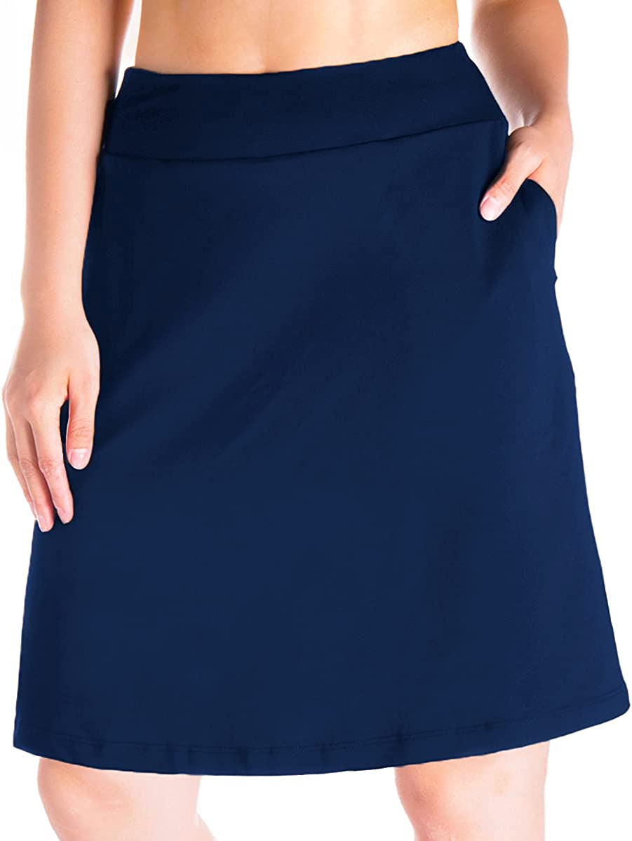 Yogipace Max 52% OFF Women's Challenge the lowest price 4 Pockets UV Protection Length Modest 20