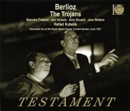 Berlioz The Trojans. Blanche Thebom Jon Vickers Amy Shuard Jess Walters Et Al. Covent Gard