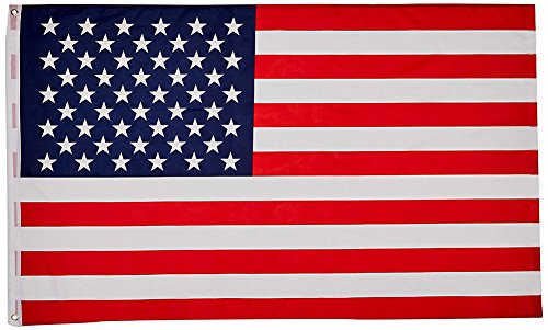 JYOHEY American Flag Best Weatherproof for Outdoors & Indoors 3x5 ft USA Flag (9 Stickers for Free)