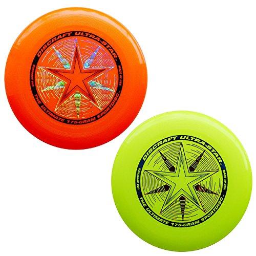 Discraft 175 gram Ultra Star Sport Disc. (2 pack)
