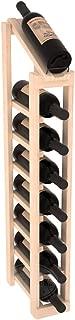 Wine Racks America Ponderosa Pine 1 Column 8 Row Display Top Kit. Unstained