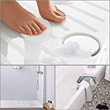 20pcs Non Slip Bath Sticker Anti Slip Shower Discs for Tubs Shower Free Scraper
