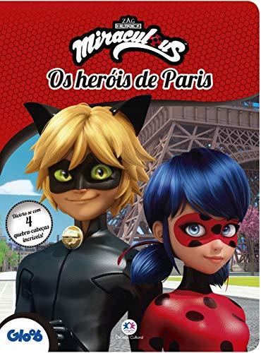 Ladybug - Os heróis de Paris: Divirta-se com 4 quebra-cabeças incríveis!