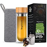 WeightWorld Botella Termo para Infusiones de Té con Filtro de Agua | 500ml de Té | Doble Capa de...