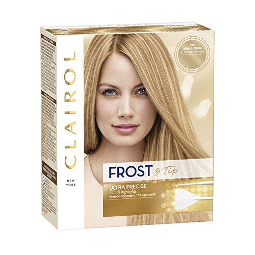 Clairol Nice 'n Easy Frost & Tip Original, light blonde to medium brown