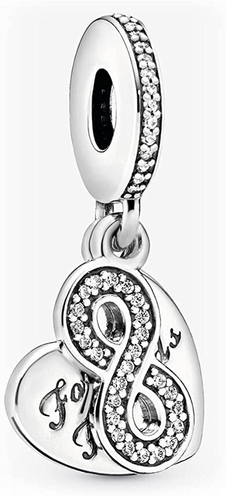 Best Super sale period limited Friend Forever BFF Dangle San Francisco Mall Charms Silver Fits Beads Sterling