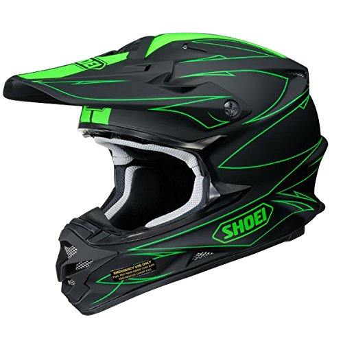 Shoei VFX-W Hectic Motocross MX Helm Enduro Trail Quad Cross Offroad TC4 XL (61-62cm)