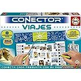 Educa - Conector Viajes: Aprende sobre curiosidades del Mundo Juego Educativo para niños, a Partir de 7 años (17704)