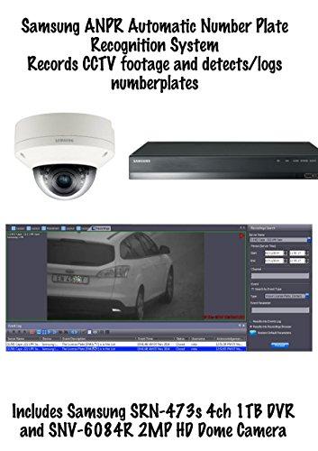 ANPRKIT4 – Samsung ANPR Nummernschild-Erkennung 4CH NVR + 2MP HD Dome Kamera