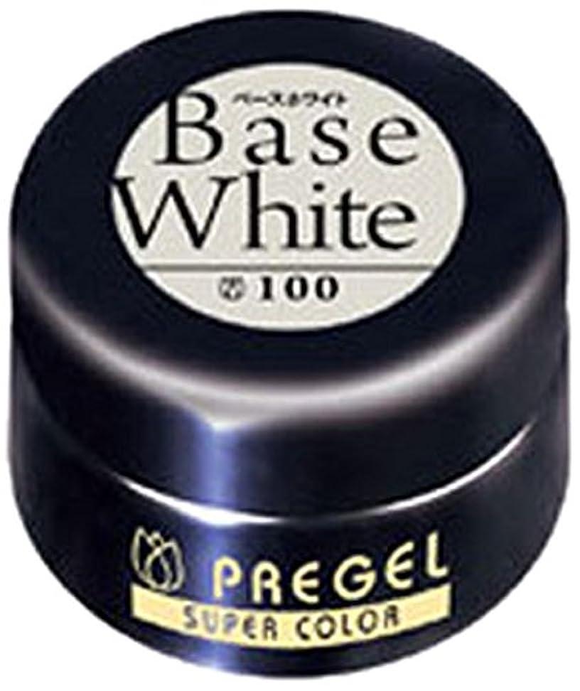 以内にパスポート支給プリジェル スーパーカラーEX ベースホワイト 4g PG-SE100 カラージェル