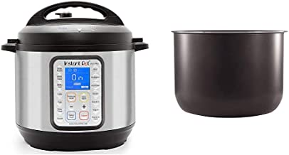 Instant Pot Duo Plus 9-in-1 Electric Pressure Cooker, Sterilizer, Slow Cooker, Rice Cooker, Steamer, 8 Quart, 15 One-Touch...