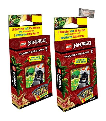 Lego Ninjago Karten Trading Cards Serie 6 - Die Insel (2021) - 2 Blister + stickermarkt24de Gum