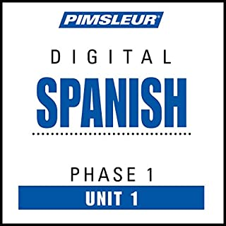 Spanish Phase 1, Unit 01 cover art