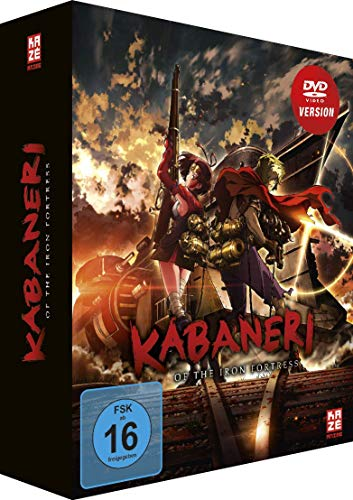 Kabaneri Of The Iron Fortress - Vol.3 - [DVD] mit Sammelschuber