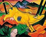 1art1 Franz Marc - Die Gelbe Kuh, 1911 Poster Kunstdruck 50