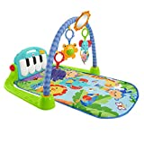 Fisher-Price Palestrina Baby Piano 4-in-1, BMH49, Verde e Blu