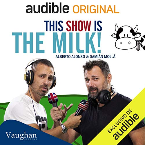 Diseño de la portada del título This Show is the Milk: Lesson 3
