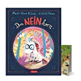 Buchspielbox Das NEINhorn (Bilderbuch) + 1x Zoo-Wimmel-Übersicht, Kinderbuch Klassiker ab 3 Jahren