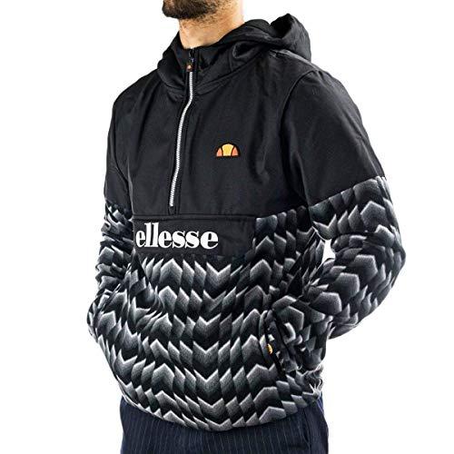 Ellesse Freccia Oh Jacket Chaqueta, Hombre, Black, XL