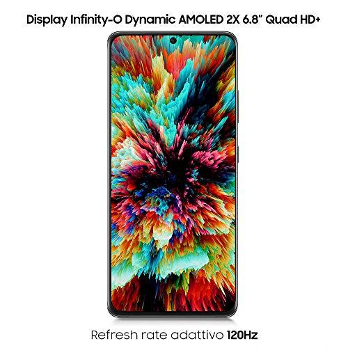 Samsung Smartphone Galaxy S21 Ultra 5G, Caricatore incluso, Display 6.8