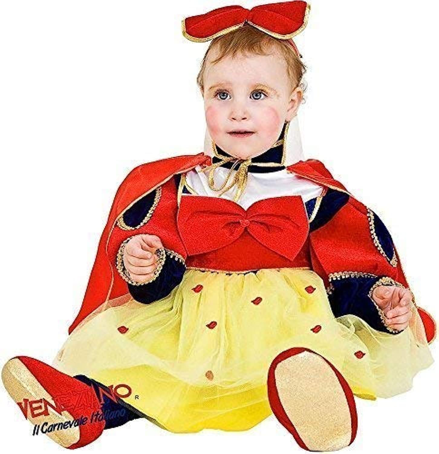 Italian Made Toddler Girls Snow White World Book Day Week Fairytale Cartoon Fancy Dress Costume Outfit 23 Years