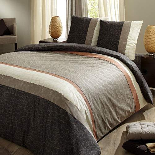 Drap housse KINSHASA - C Design Home - 160x200 cm - Marron