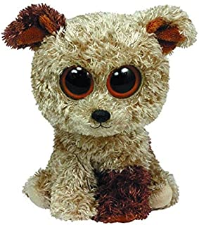 ILUTOY Ty Beanie Boos Animals Rootbeer Terrier The Brown Dog Plush Toy 15Cm Teen Must Haves Gift Bags Girls Favourite Characters Superhero Toys LOL Unboxed