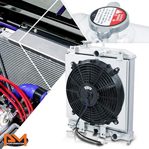 honda 3 row aluminum radiator - 9