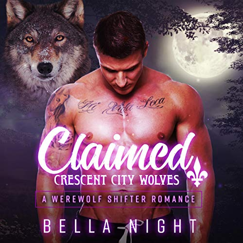 Claimed audiobook cover art
