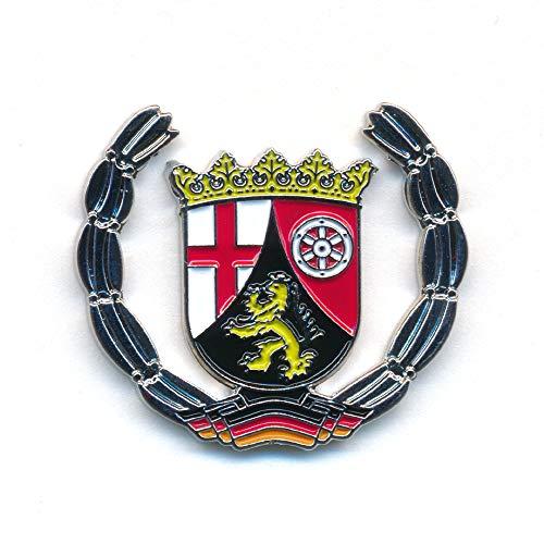hegibaer Land Rheinland-Pfalz Wappen Mainz Koblenz Deutschland Badge Pin Anstecker 0923