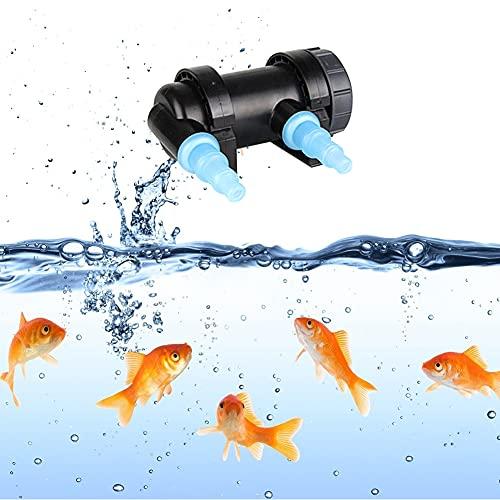 Uv Aquarium Sterilisator, 5-24 W Aquarium Uv-sterilisator Lampe Wasserreiniger Für Teich Aquarium Filterreiniger Keimtötendes Licht, Led Aquarium Beleuchtung, Aquarium Reiniger