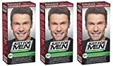 Just for Men - H35 - Haarfärbemittel, Pflege Tönungs Shampoo, Natur Mittelbraun, 3er Pack
