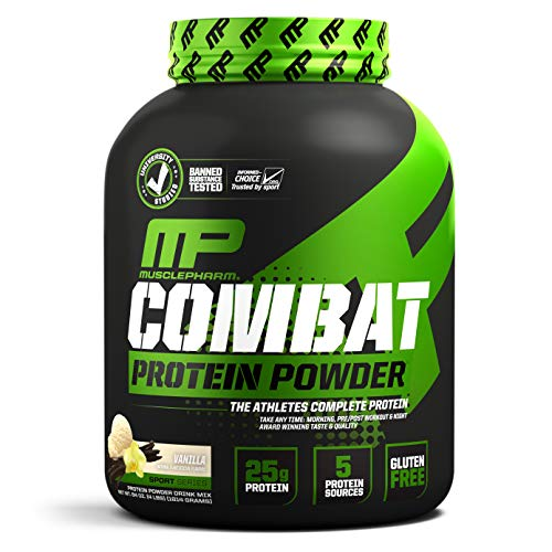 Musclepharm Combat Protein Powder Vanilla - 1855 gr ✅