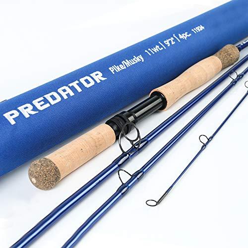 M MAXIMUMCATCH Maxcatch Predator Saltwater Fly Rod 9' 9wt 4-Piece