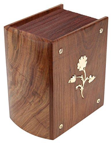 """Preisvergleich Produktbild Urns UK """"Meriden (Urne aus Holz,  Braun"""