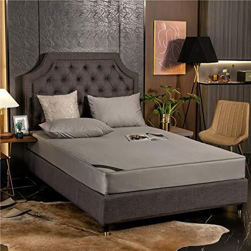 haiba Touch Spannbettlaken Spannbetttuch Bett, Kinderbett Couch Flauschiges Laken Tagesdecke 120x200+25cm