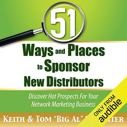 51 Ways and Places to Sponsor New Distributors Titelbild