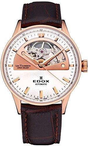 Edox les vauberts open heart orologio Uomo Analogico Automatico con...