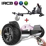 rcb hoverboard suv scooter elettrico autobilanciato 8.5 '' hoverboard hummer bluetooth app + hoverkart go kart per hoverboard