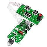 Módulo electrónico Máquina de soldadura por puntos Tiempo de corriente Controlador de corriente Panel de control Ajuste tiempo y módulo de corriente con pantalla digital 40a / 100a Equipo electrónico