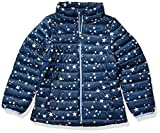 Amazon Essentials Hooded Puffer Jacket Outerwear-Jackets, Estrella, Azul Marino, Medium