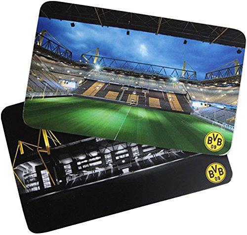 BVB 09 Borussia Dortmund frühstücksb provita Lot de 2 planchettes petit-déjeuner planche