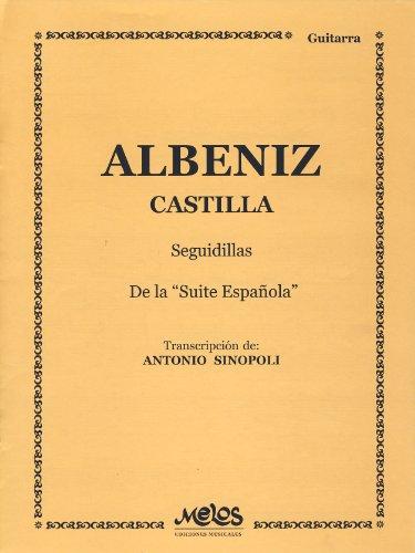 ALBENIZ - Castilla Op.47 nº 7 para Guitarra (Sinopoli)