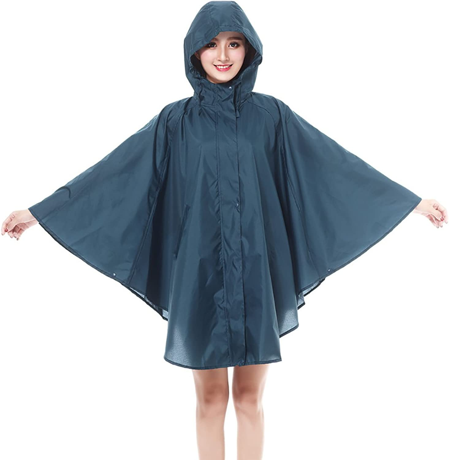 Bicycle Raincoat Women's Waterproof Poncho for Outdoor Camping Hiking Travel (color   C)
