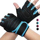 AVIDDA Fitness Handschuhe,Gewichtheben Trainingshandschuhe mit Handgelenkstütze,Rutschfest...