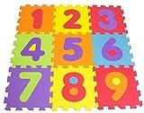 Tatamiz ttmz003Números–Alfombra Puzzle Espuma de 9Piezas