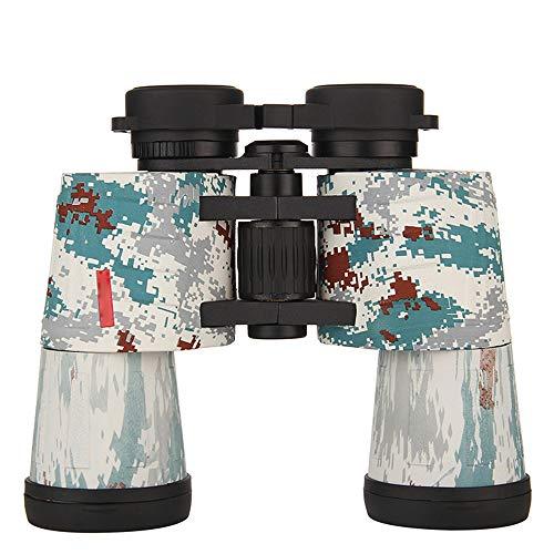 HD 10X50 Jumelles Étanche Preuve De Brouillard pour Adulte Observation des Oiseaux Astronomie Football Safari Tourisme Escalade Randonnée Voyage