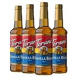 Torani Syrup, Vanilla Bean, 25.4 Ounces (Pack of 4)
