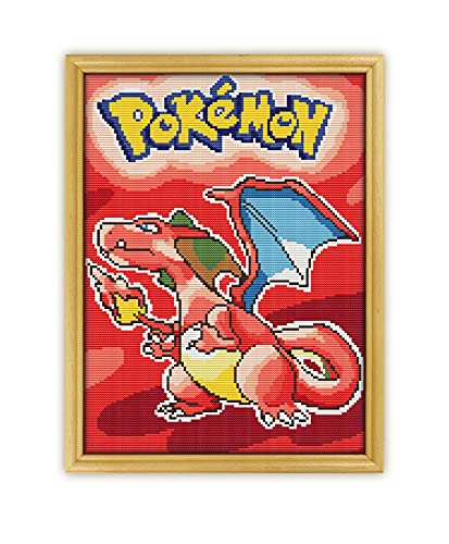 Pokemon Red Game K1099 Counted Cros…